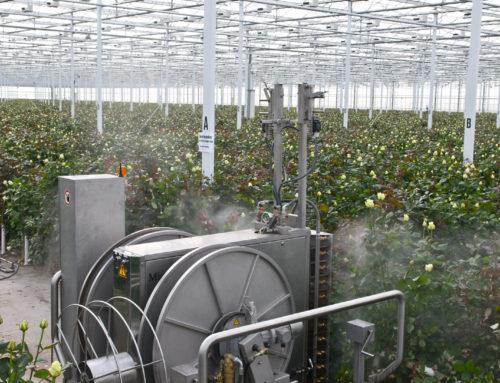 Опрыскиватель-робот для защиты растений в теплицах (+ Smart Spray Technology)