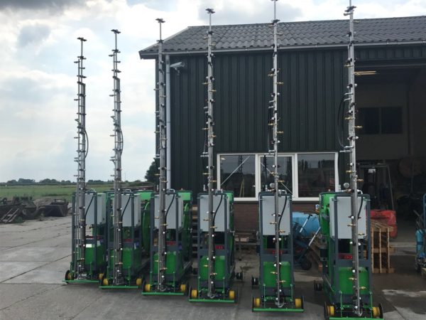 Micothon Narva Spraying robots ready for testing and shipment