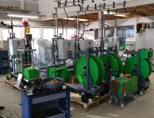 Again three Micothon Narva spraying machines for Russian customer